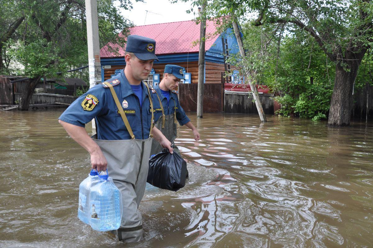 помощь при затоплении