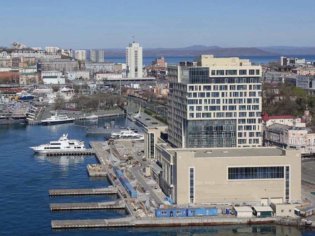 ВоВладивостоке, наконец, достроят роскошные отели Hyatt