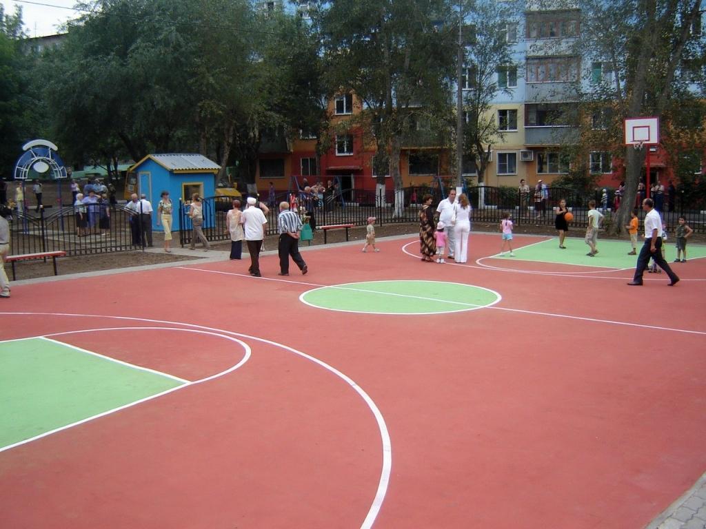 33 спортивные площадки построят в 2013 году в воронежской области