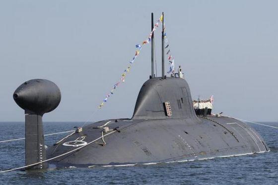 российские ядерные подводные лодки