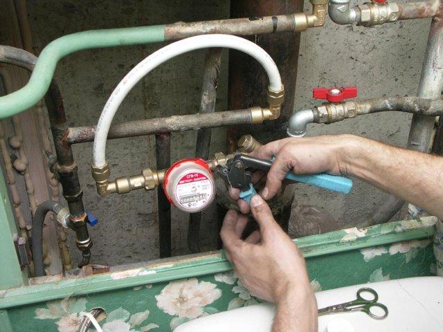 Правила установки счетчиков на воду