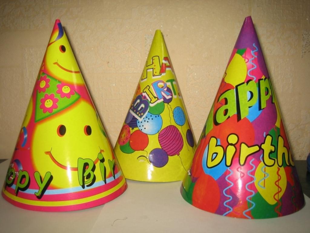 Как сделать шаблон колпачок для дня рождения