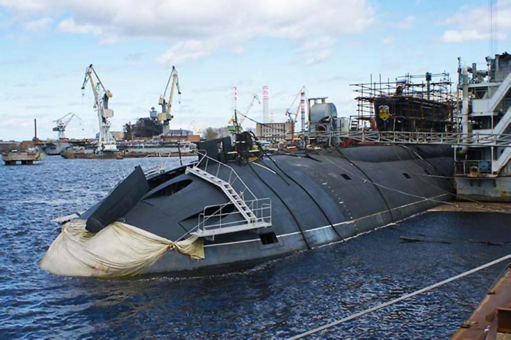 строительство современных подводных лодок