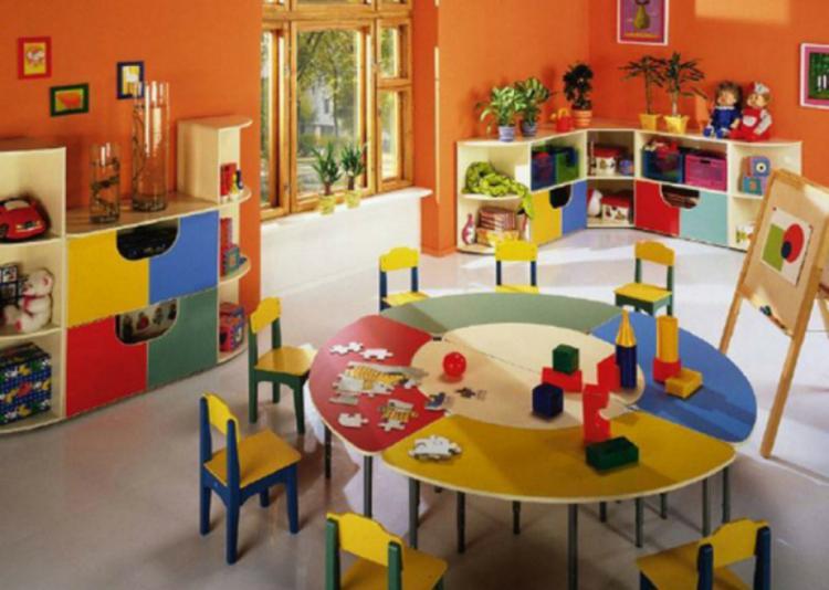 Мебель для частного детского сада.