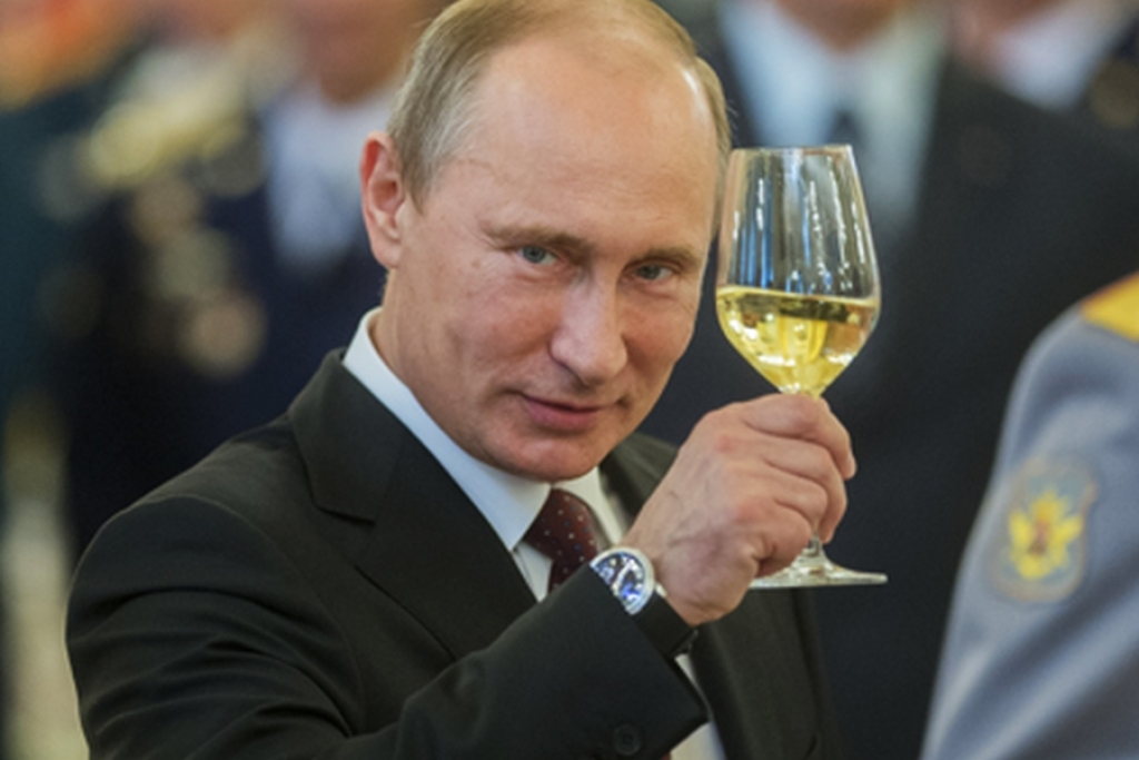 Фото поздравления путина с днем рождения