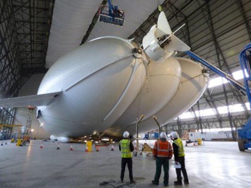 НаБританских островах испытали самое огромное вмире воздушное судно