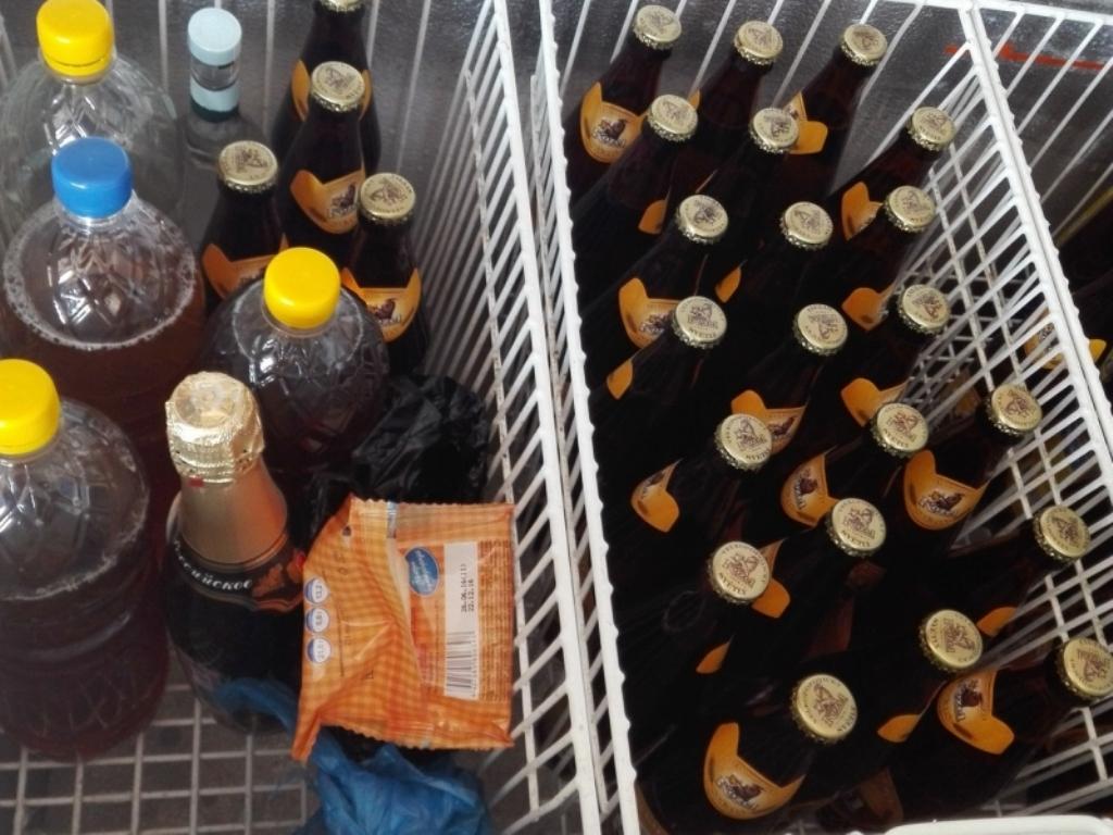 184 литра контрафактного алкоголя изъяли сприлавков красноярских магазинов