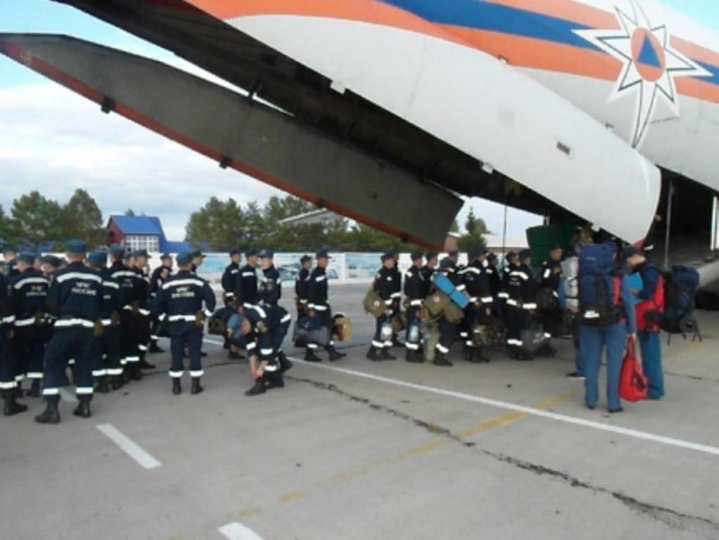 Еще 250 спасателей приедут вПриморье для помощи затопленным районам