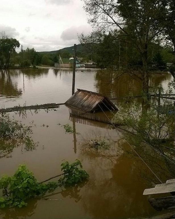 ВПриморье неменее 700 домов непригодны для жилья после паводка