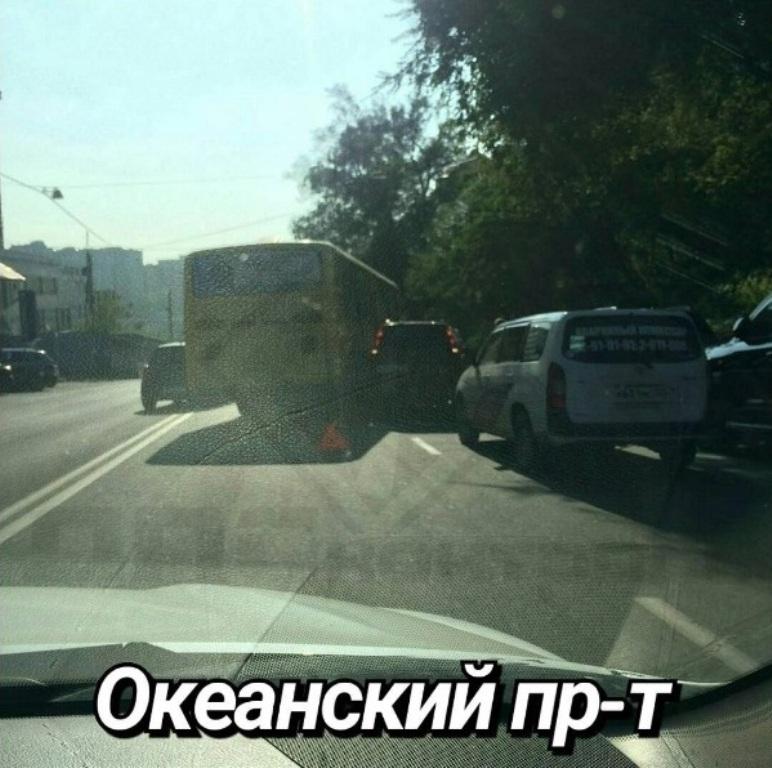 ВоВладивостоке шофёр автобуса привлечен кответственности завыезд навстречку