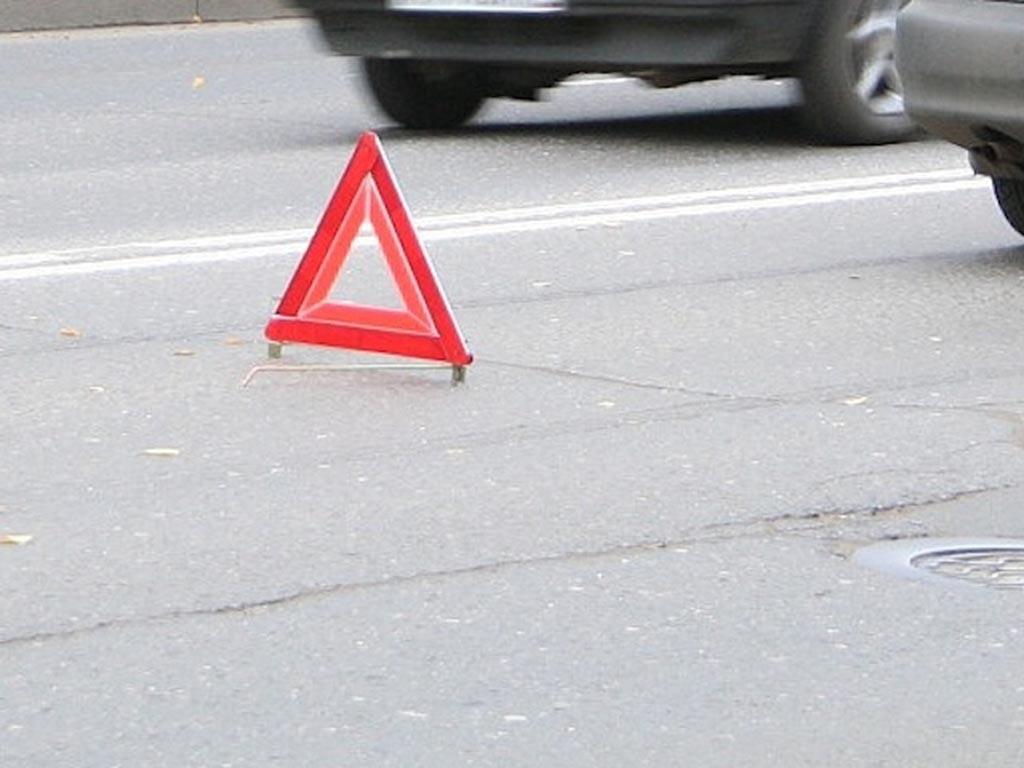 ВоВладивостоке шофёр внедорожника сам себя наказал