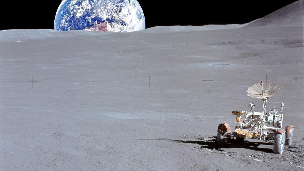 В РФ планируют возродить исследования Луны при помощи луноходов