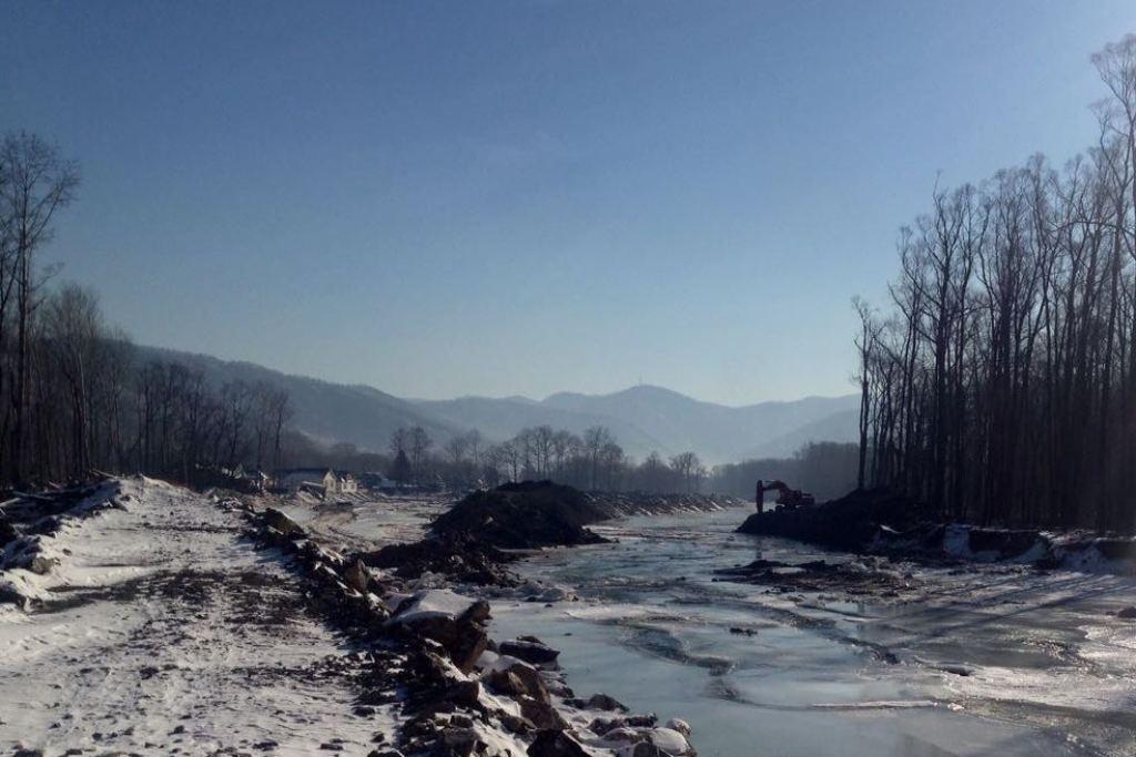 Реку Рудная вДальнегорске укрепят для безопасного прохождения тайфунов