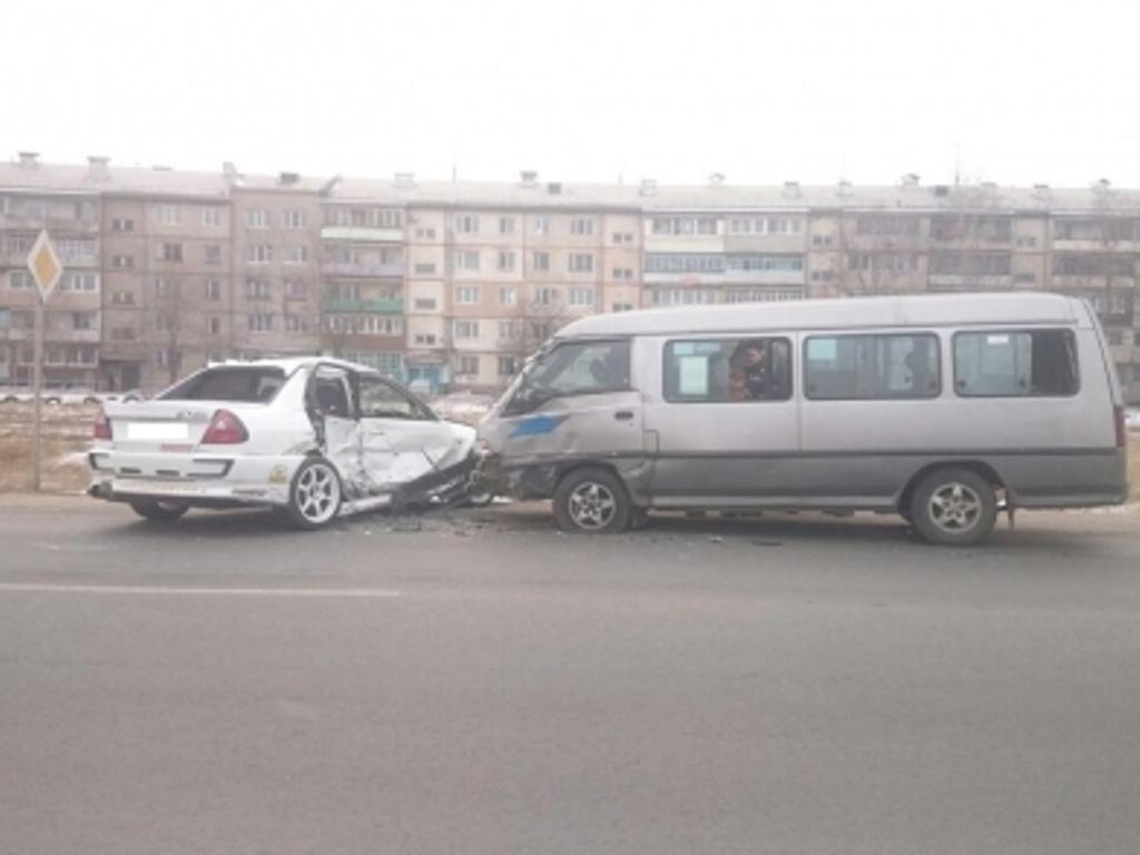 ВУссурийске вДТП савтобусом пострадали 5 человек