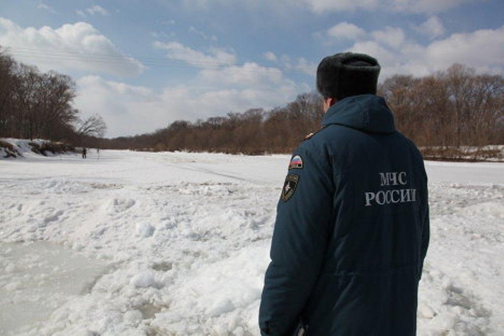 ВОлюторском районе парень провалился под лед— ребенка ищут всем селом