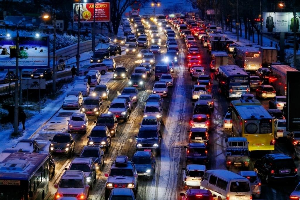 Снегопад может прикрыть Приморье сегодня вечером