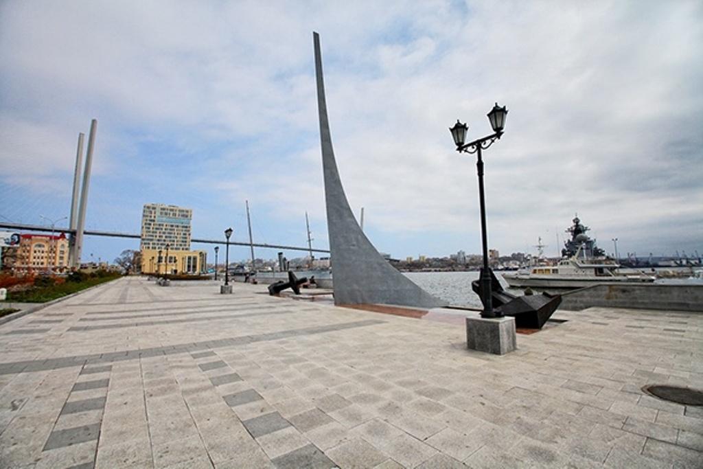 Рыбный рынок вформе ската построят наКорабельной набережной Владивостока