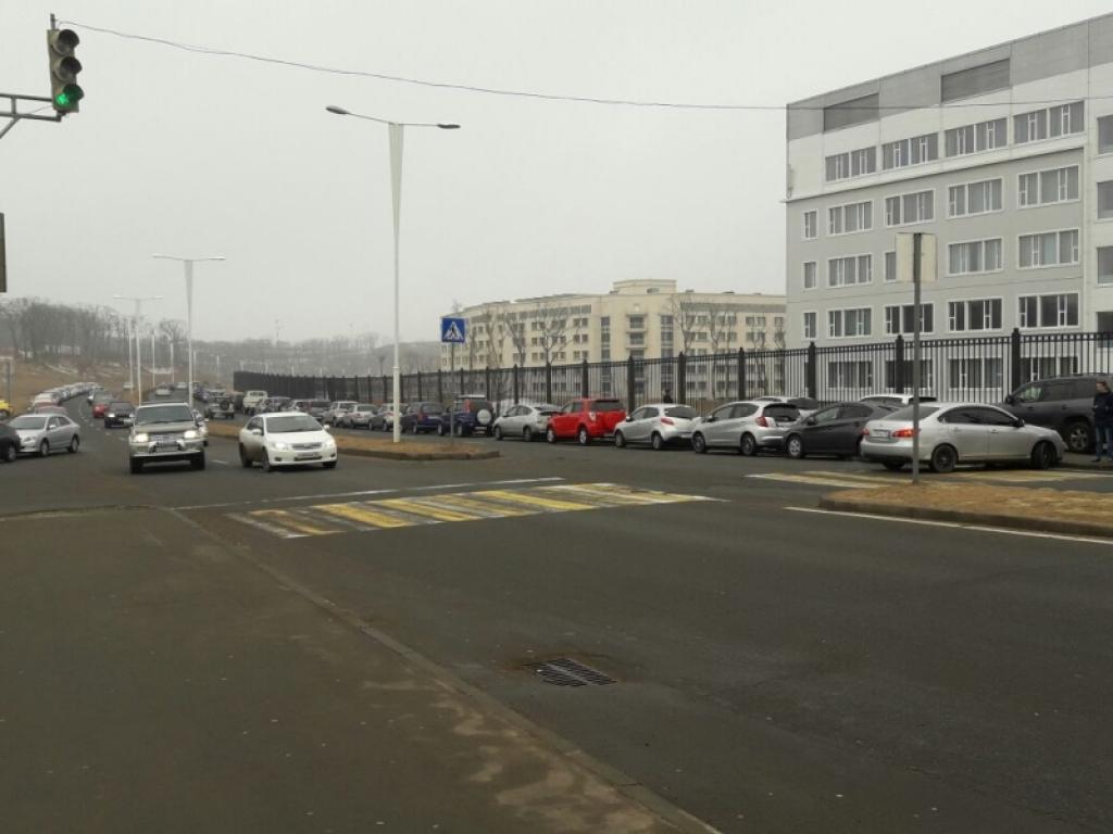 Наострове российский воВладивостоке автоледи сбила сразу 3-х пешеходов
