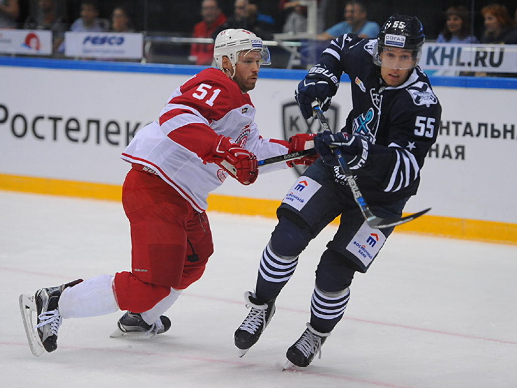 Конкурентом «Авангарда» впервом раунде плей-офф Кубка Гагарина будет «Адмирал»