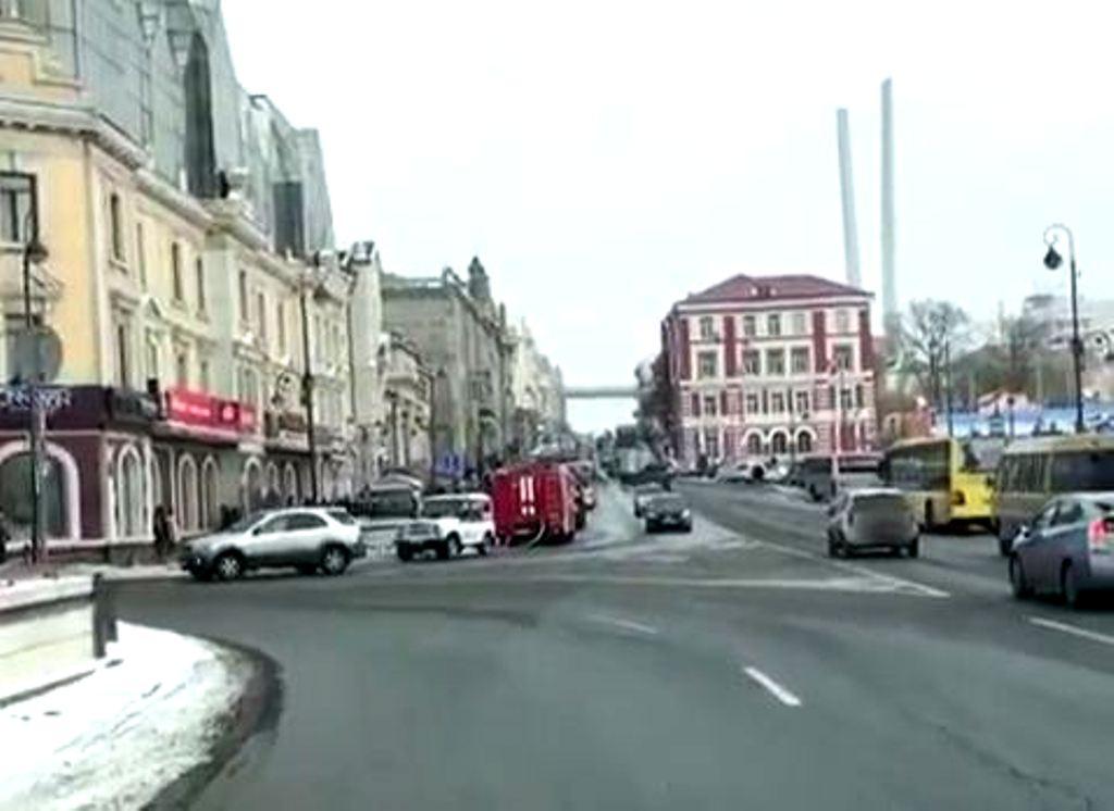 ВоВладивостоке изТЦ «Центральный» эвакуировали людей