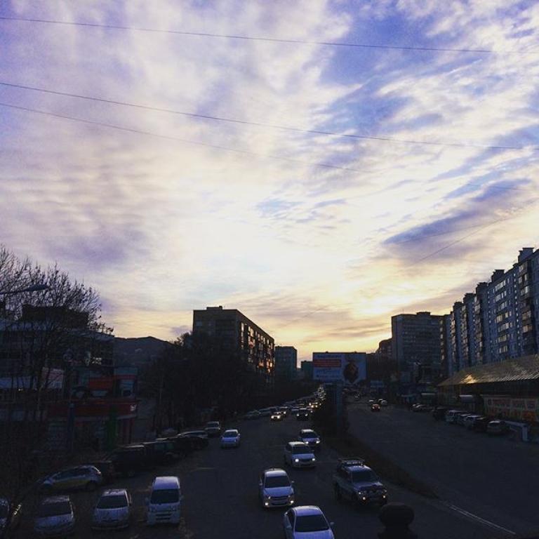 Сегодня воВладивостоке -4 °C