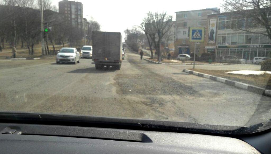 Аварийные участки дороги Владивосток— Находка починят кначалу пляжного сезона