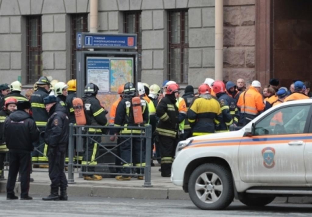 Поисково-спасательные работы впетербургском метро завершены— МЧС