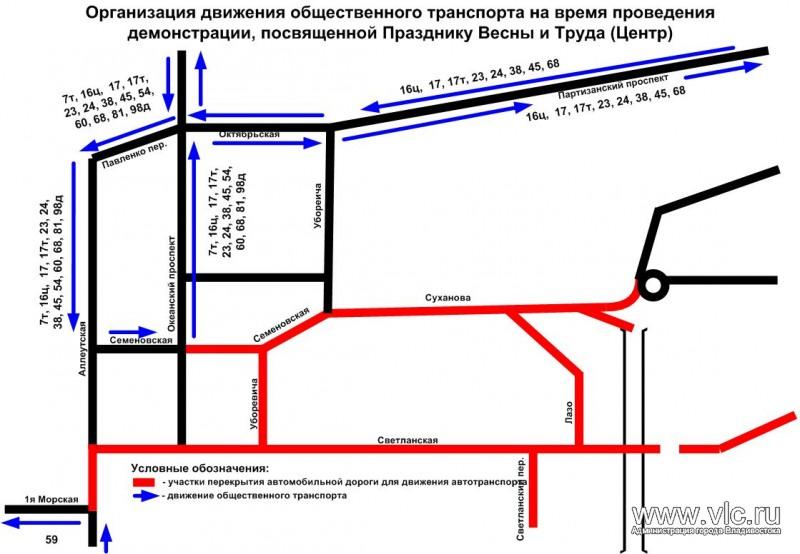 Схема движения автобусов во владивостоке фото 198