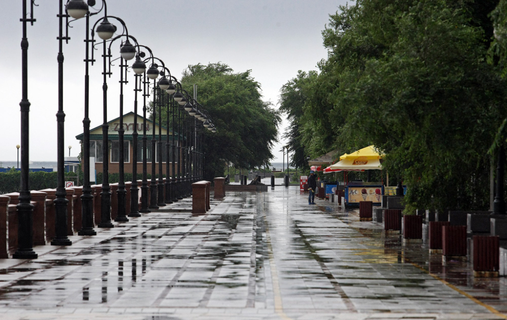 Впервые дни лета вПриморье прогнозируют дожди
