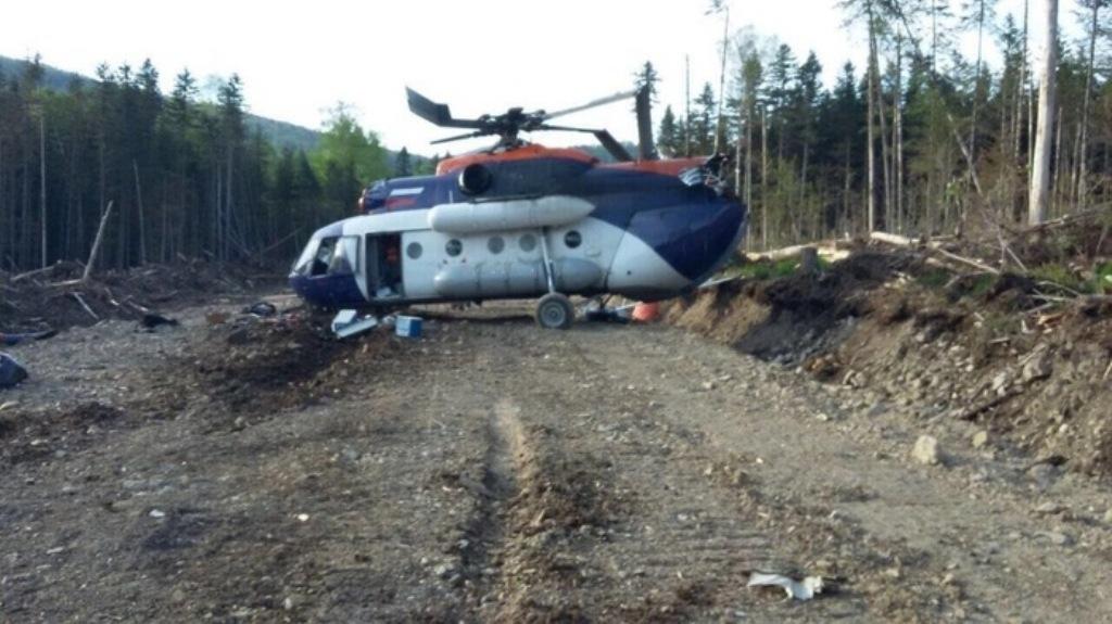 Комиссия МАК начала расследование пофакту жесткой посадки вертолетаМи-8 вПриморье