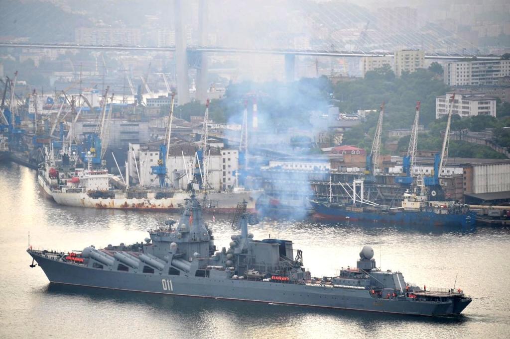 Отряд кораблей ТОФ вернулся воВладивосток