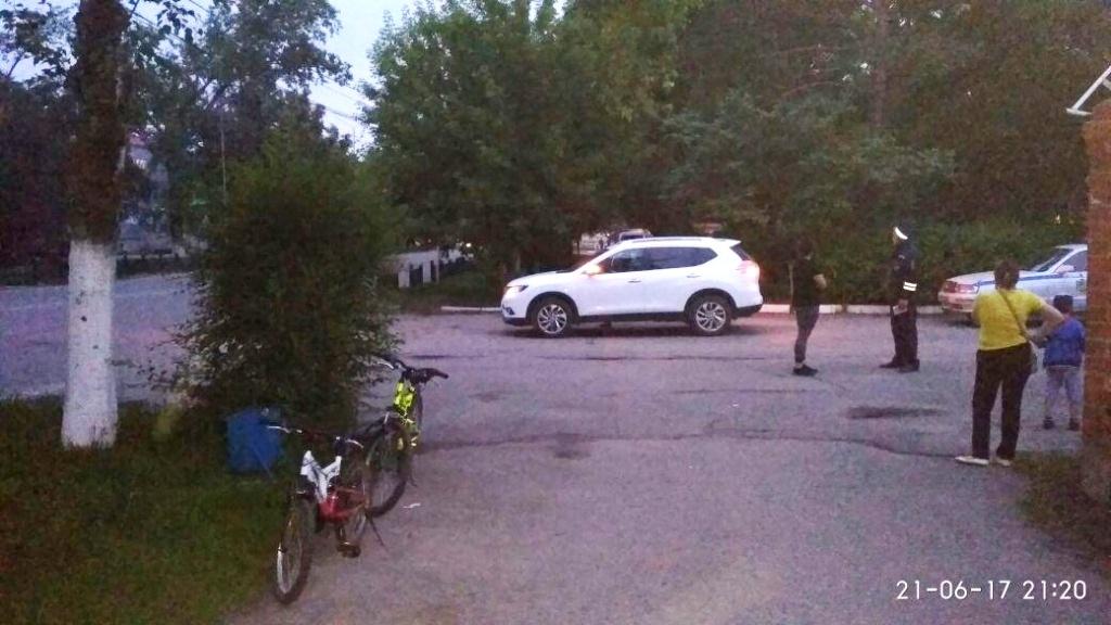 ВПриморье автоледи сделала  наезд на7-летнего велосипедиста