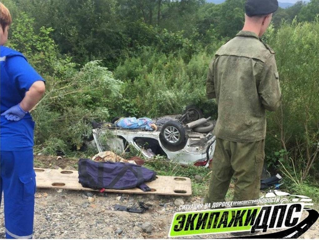 Кошмарная авария, врезультате которой погибли три человека, произошла вПриморье