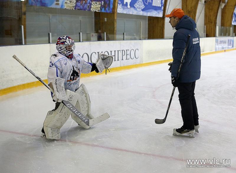 тренировки по хоккею для детей