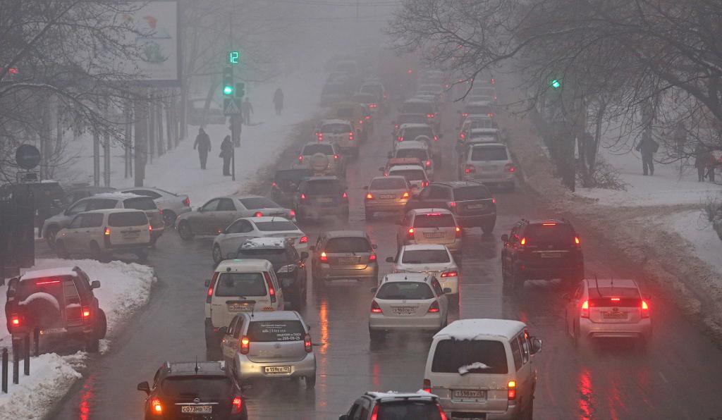 ВоВладивостоке сегодня дождь исильный ветер