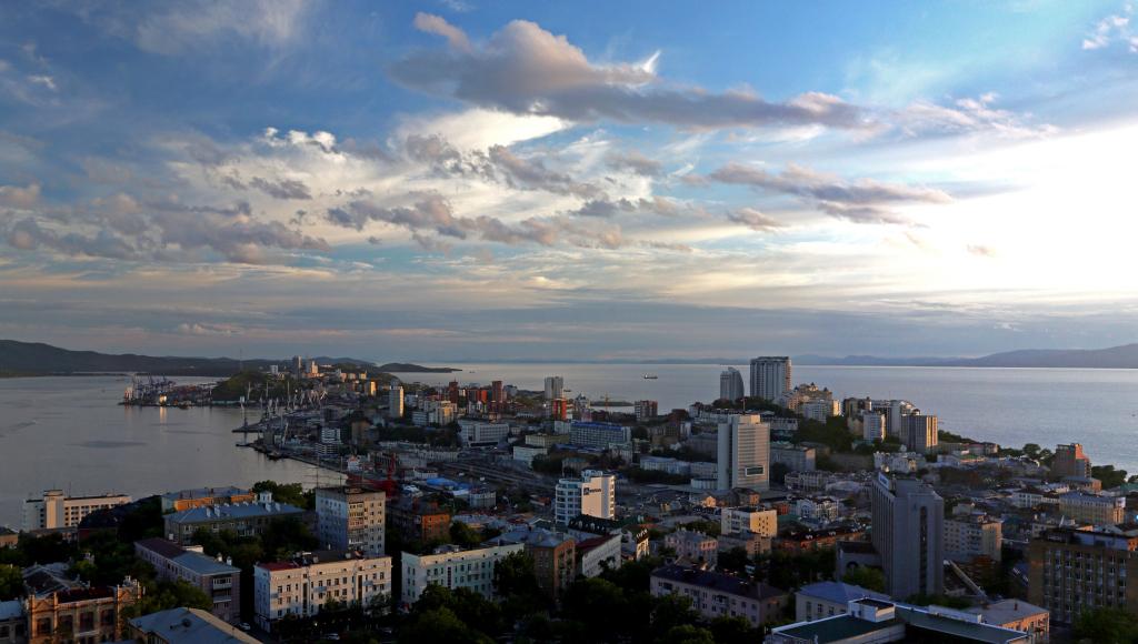 Навыходных воВладивостоке реален дождь