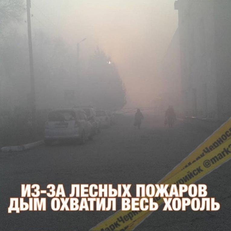 Владивосток накрыло дымом отлесных пожаров