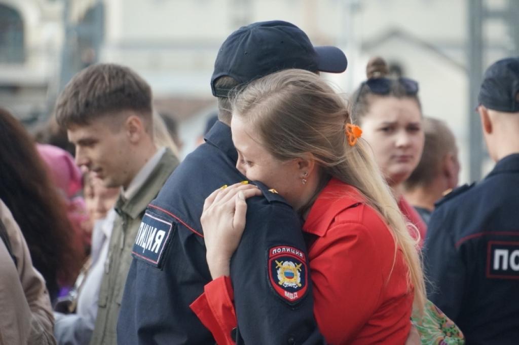 Костромских полицейских отправили наСеверный Кавказ наполгода