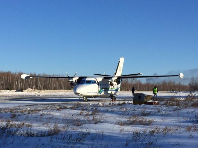 Прелестное спасение Жасмин при крушении самолета