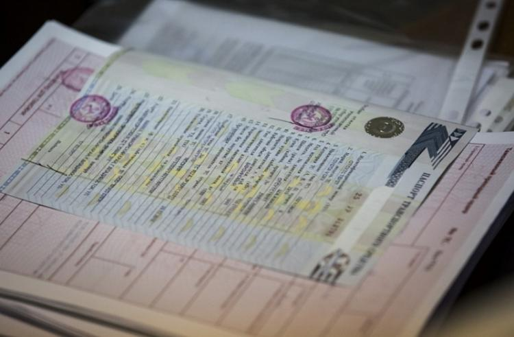 Бумажные ПТС «канут вЛету» с1июля предстоящего 2018