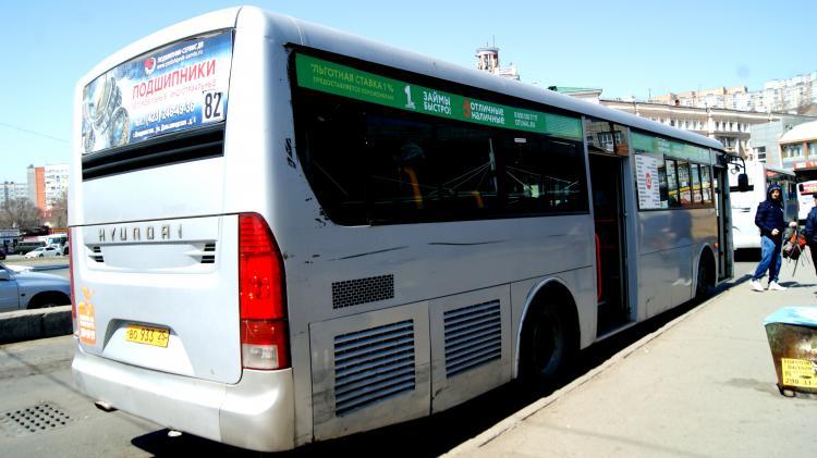 Стоимость проезда вавтобусах Владивостока вырастет сНового года