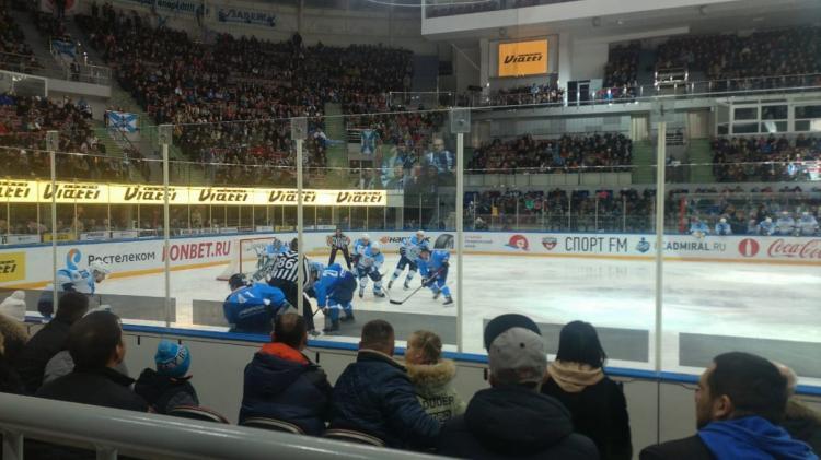 «Сибирь» вырвала победу у«Адмирала» вовертайме— Хоккей