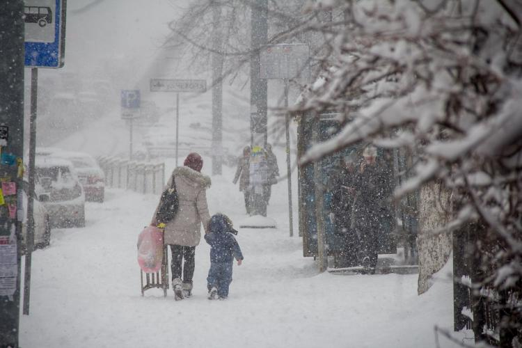 Сегодня воВладивостоке -21…-23 °С