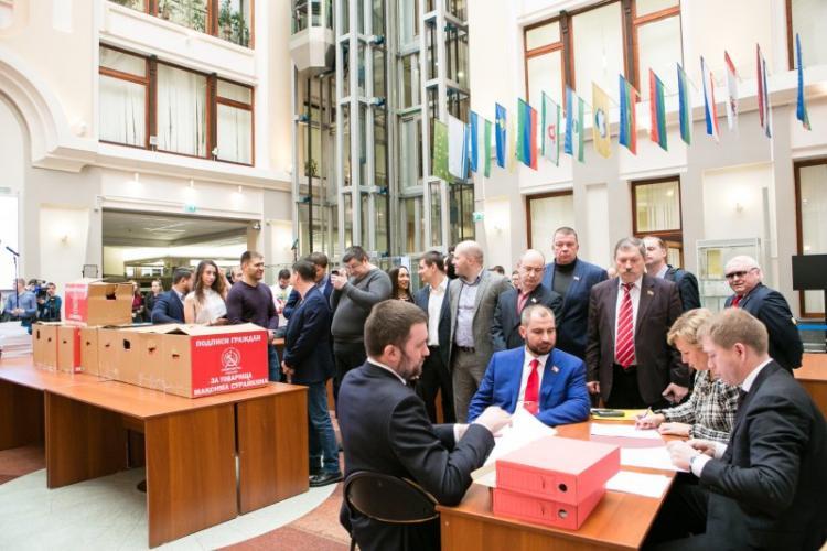 Центризбирком завершил приём подписей для регистрации претендентов навыборы