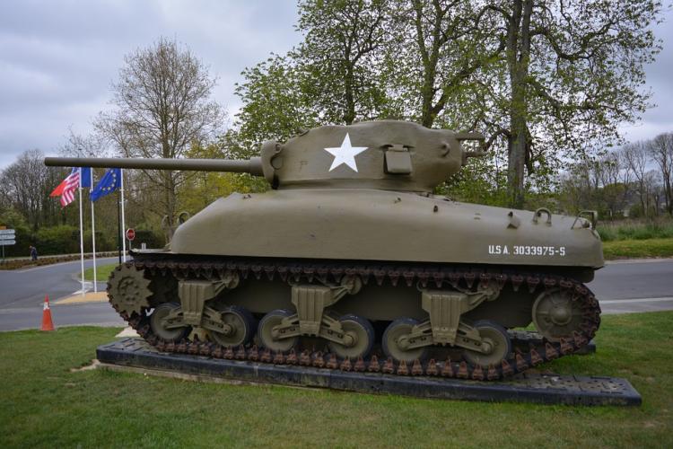 Американский танк доставят для реконструкции воВладивосток