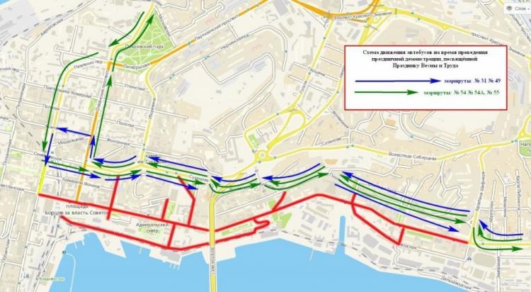 Схема движения автобусов во владивостоке фото 286
