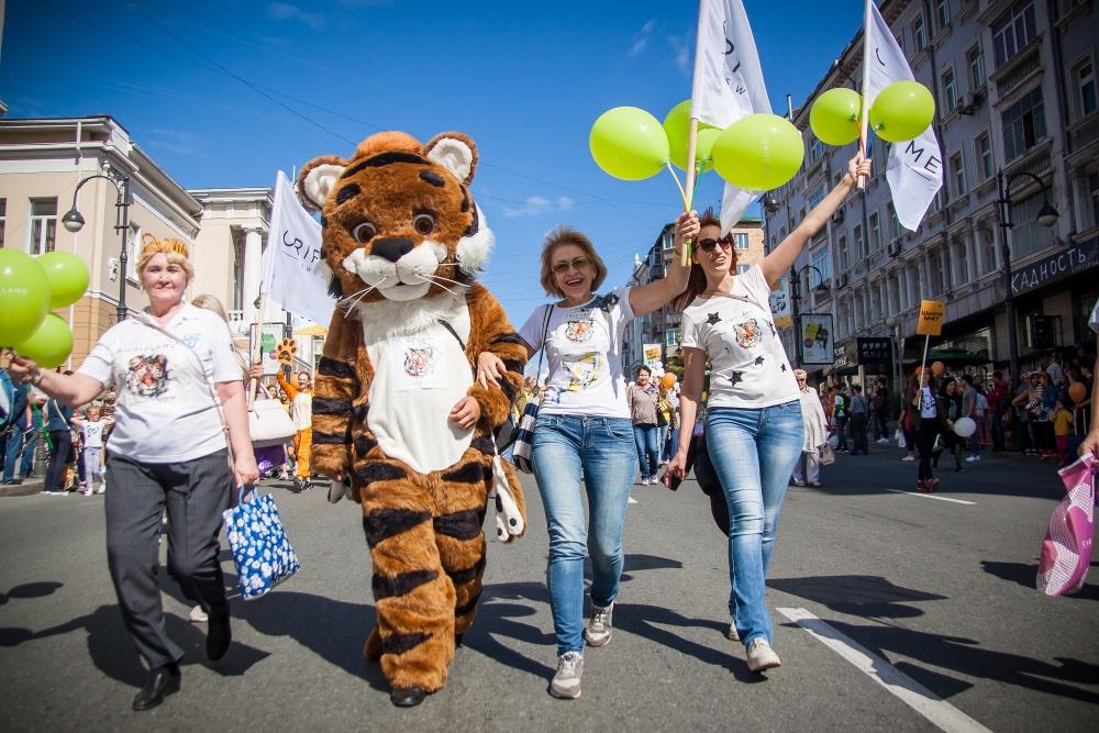 Фото день тигра во владивостоке