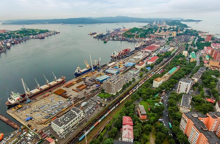 滨海边疆区的港口货物吞吐量得到了增长
