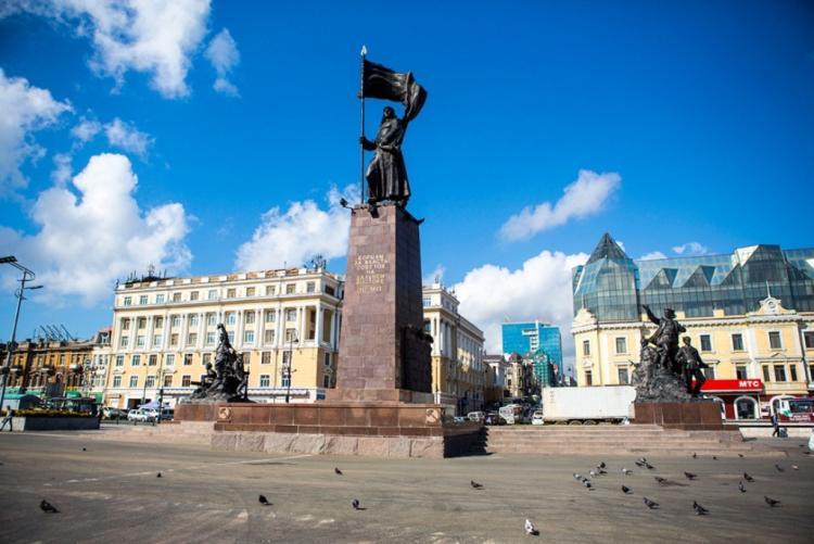 фото центральной площади города владивостока ежедневно