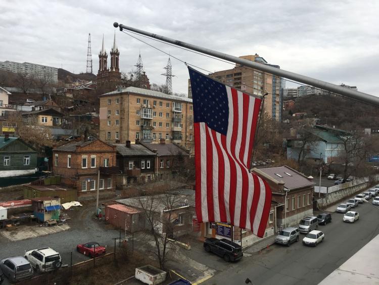 Генконсульство США воВладивостоке закрывается из-за траура